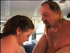 Drew Allen is desperate to get it on with her teacher Brian Surewood