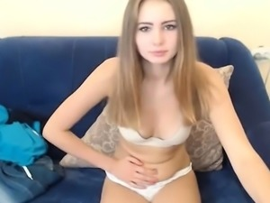 Hottest Amateur Blonde Teen fucked in the shower on Webcam