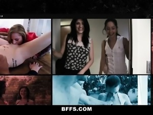 BFFS- Hot Teens Compete In Sex Decathlon