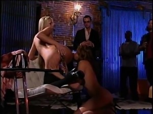 Hard doggy shagging for Austin Kincaid and her attractive friend