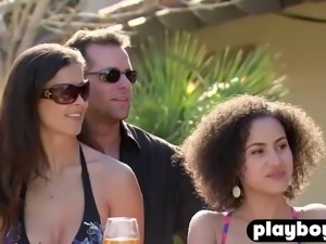 black swinger couple enjoys fucking with other couples