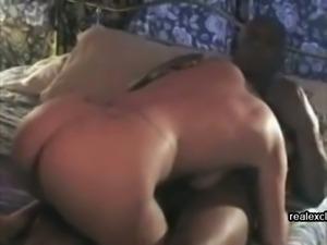 My cuckold wife 54 enjoys fat black dick