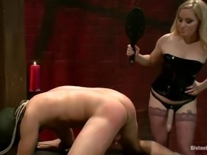 intense female domination video