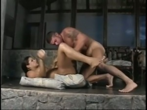 Wildly kinky tranny slut Jasmine is enjoying some steamy sex