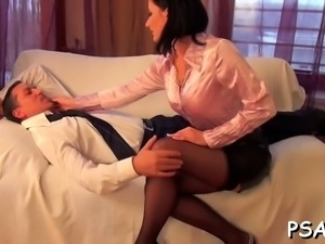 Gorgeous older pornstar gets pissed on and fucked hard