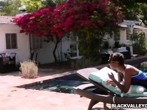 Coach enjoying first ever dark skinned girl