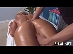 Full body massage episode scene
