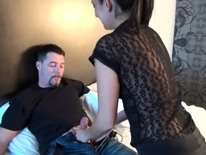 Brunette Teen Taking Big Cock In Her Ass