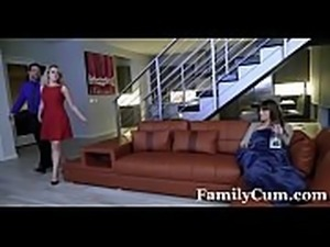 Daddy&#039_s Girl Fucked While Mom Sleeps - FamilyCum.com