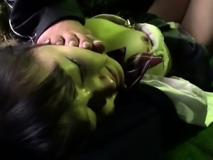 Naughty Japanese girls fulfill their need for hardcore sex