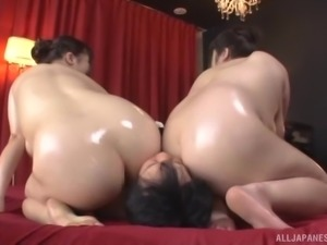 Chubby Japanese women are in need of a man's skillful touch