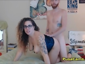 Fucking My Cute Curly Curvy Girlfriend in Corse
