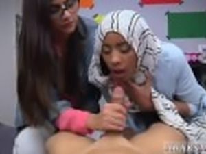 Hairy arab pussy xxx BJ Lessons with Mia