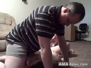 Horny mature couple and a friend
