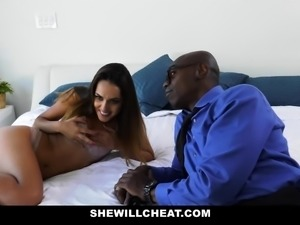 ShewillCheat - Sexy Young Wife Fucks BBC