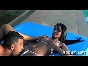 Non-stop oral-stimulation in brazilian style