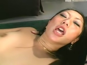 This Asian nympho has a true love for fucking on camera and she loves cum