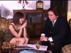 Buxom Japanese wife confesses her passion for hardcore sex