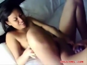 Amateur lesbians. Asian wife and her lez cousin