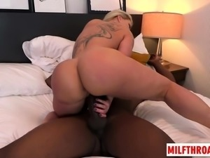 Hot milf anal and cumshot