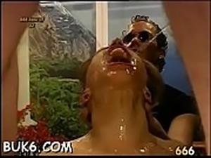 Reverse group-sex videos