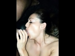 fuck my throat and cum on me