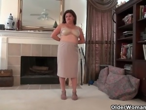American moms in pantyhose part 11