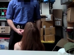 ShopLyfter - Teen Caught Stealing Persuades Officer With Sex