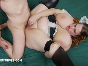 English Busty Wench getting Anal