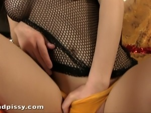 This neat babe is so sweet and sensuous and she masturbates like a pro