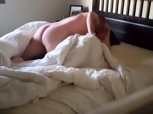 Horny brunette wife enjoys an intense drilling on hidden cam