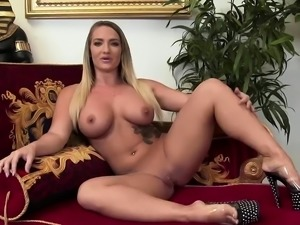 Madelyn Marie nailed at the office
