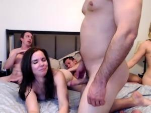 Hardcore fetish group sex