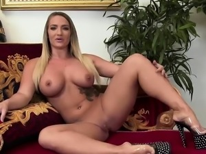 Jasmine Black gets cum all over her