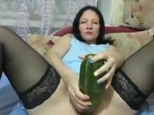 Amateur - Mature  Bottles Large Veggies & Fisting