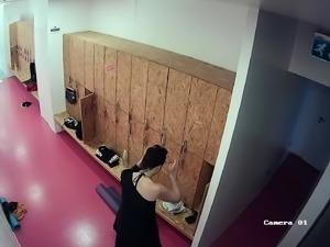Horny voyeur captures hot amateur babes changing clothes