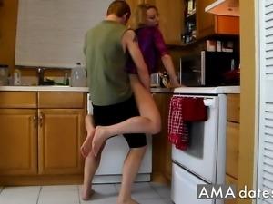 my crazy wife fantasia ( in kitchen )
