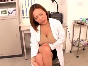 Voluptuous Asian nympho takes a thick cock in her hairy slit