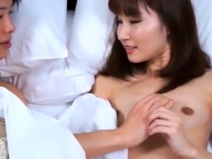 Hairy Japanese Asian Pussy Fucked Doggie by