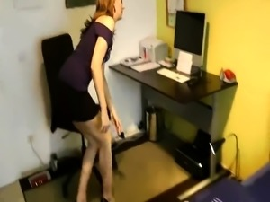 Elegant milf in high heels gets nailed deep and facialized