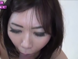 Japanese cute wife fucked like a whore