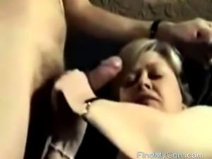 Mature couple home sex