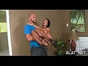 Small titted latin chick slut sucks and rides big hard cock wild