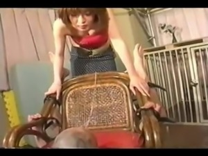 Japanese Licking Chair Part 3
