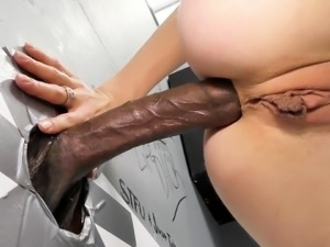Angel Smalls Interracial Anal - Gloryhole