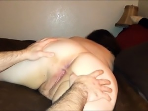 Chubby mature wife gets her anal hole nailed hard doggystyle
