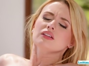 gorgeous penny and kennedy goes pussy licking and fingering