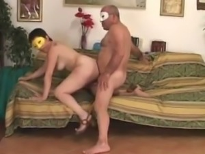 This fat bodacious bitch is having some raunchy one on one fuck session
