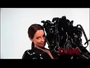Bianca Beauchamp and Rubberdoll in Latex Ponygirls