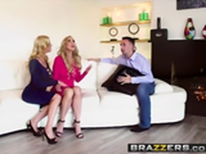 Brazzers   Pornstars Like it Big   Alexis Fawx Brandi Love Keiran Lee...